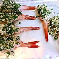 停不下来的蒜香烤虾的做法图解12