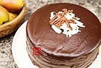 【曼步厨房】巧克力恶魔蛋糕 Devil's Cake的做法