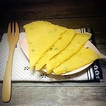 葱花鸡蛋饼#急速早餐#