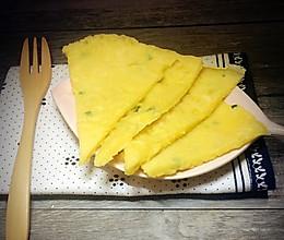 葱花鸡蛋饼#急速早餐#的做法