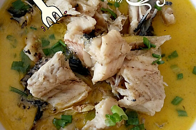 鲜美乌鱼汤