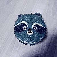 小浣熊立体彩绘杯蛋糕的做法图解17