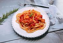 海鲜番茄意面的做法