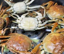 10分钟清蒸螃蟹的做法