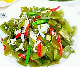凉拌海白菜的做法