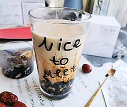 红枣珍珠奶茶的做法