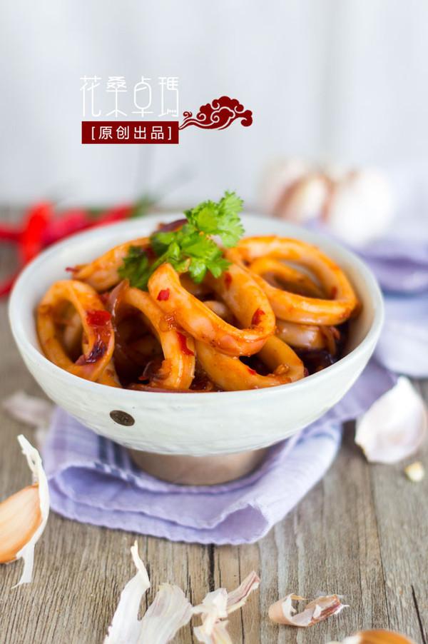 【辣炒鱿鱼圈】开胃爽口的一道下饭菜的做法