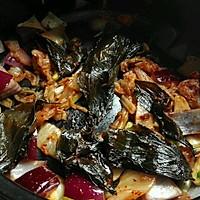 韩式火锅好吃的秘诀——泡菜肥牛锅的做法图解5