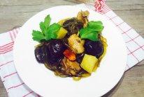 #冬季暖身菜#小鸡蘑菇炖粉条的做法