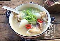 萝卜白菜鱼头汤的做法