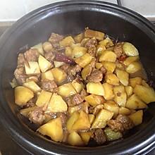 超随意的土豆炖肉