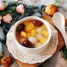 #换着花样吃早餐#红薯圆子汤