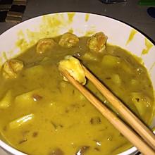 椰香鲜虾咖喱