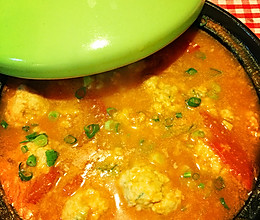 西红柿丸子汤的做法