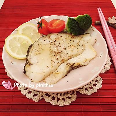 柠香煎鳕鱼