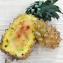 菠萝海鲜焗饭
