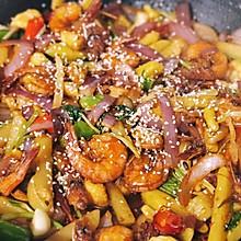 麻辣鲜香❤️干锅虾  #太太乐鲜鸡汁芝麻香油#