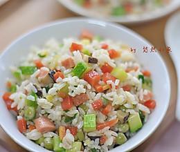 五彩炒饭——让孩子爱上米饭的做法