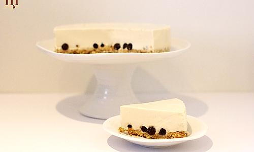 无烤箱珍珠奶茶芝士蛋糕的做法