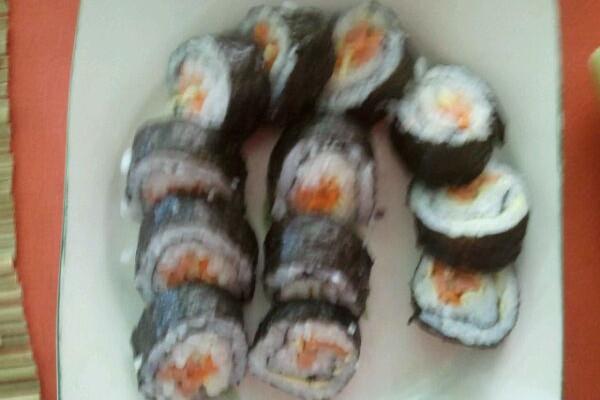 好简单的寿司~的做法