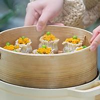 饺子皮咸蛋黄烧麦的做法图解10