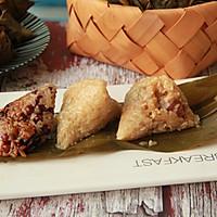 鲜肉鸭蛋黄粽子(内含红豆大枣口味)的做法图解30