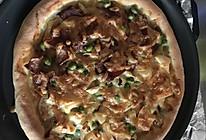 芝心双拼培根海鲜披萨的做法