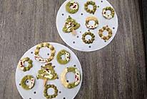 圣诞小零食黄油曲奇饼干 这样打发黄油 轻松挤得动 花纹不消失的做法
