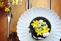 堡尔美克竹炭蛋糕的做法