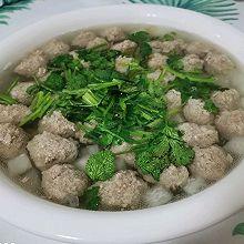 冬瓜羊肉丸子汤