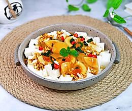 #我们约饭吧#神仙凉拌菜&薄荷皮蛋豆腐,清爽解腻高颜值的做法