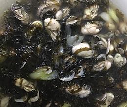 鲜海蛎紫菜煲的做法