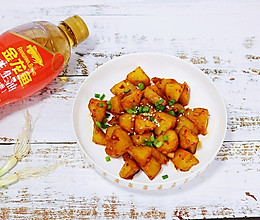 锅巴土豆#金龙鱼舌尖美味·油你掌勺#的做法