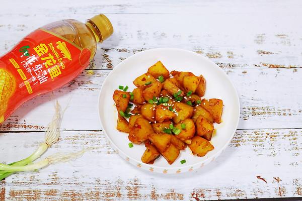 锅巴土豆的做法