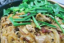 萝卜丝炒牛肉的做法
