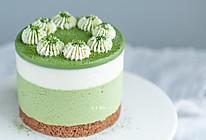 抹茶酸奶慕斯蛋糕的做法
