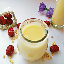 红枣枸杞豆浆#美的早安豆浆机#