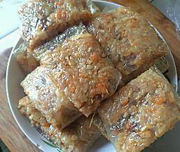 五彩糯米饭团的做法