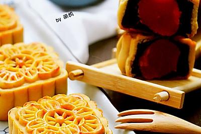 预热中秋~豆沙蛋黄月饼(经验篇)
