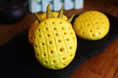花样菠萝馒头