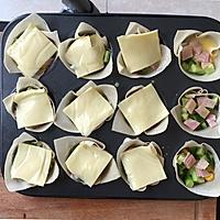 【鲜蔬蛋奶挞】巧用馄饨皮做早餐挞的做法图解6