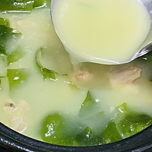 冬瓜裙带排骨汤