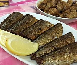 香煎孜然秋刀魚的做法