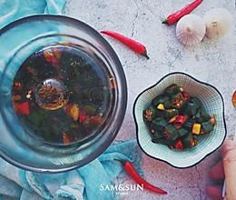 一夜渍蒜香秋葵 #爽口凉菜,开胃一夏!#的做法
