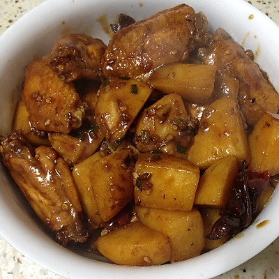 红烧土豆鸡翅