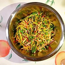 酸甜可口清爽解腻的快手凉拌菜,小水萝卜拌黄瓜