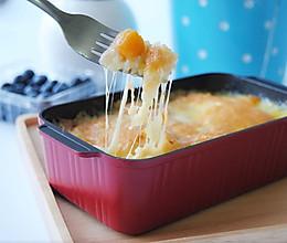 芝士鲜芒焗饭#美的烤箱食谱#的做法