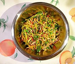 酸甜可口清爽解腻的快手凉拌菜,小水萝卜拌黄瓜的做法