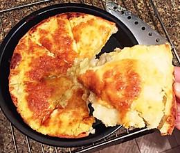 榴莲披萨来啦带饼皮(面饼是用面包机和面)的做法