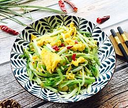 #春季食材大比拼#韭黄炒蛋的做法